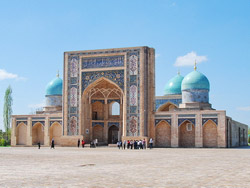 Excursion in Tashkent
