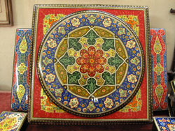 В мастерской медресе Абул-Косима, Ташкент